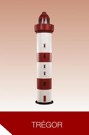 Rêves de phare, modèle Trégor, mc plast, phare géant, top déco, décoration restaurant, salon, innovation, durable