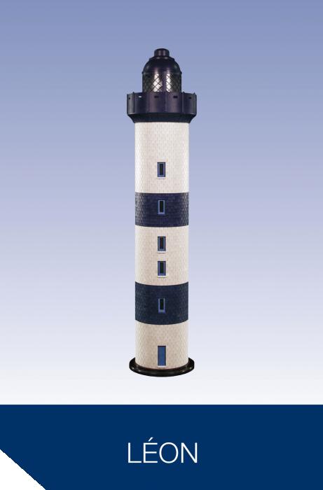 Rêves de phare, modèle Léon, mc plast, phare géant, top déco, décoration restaurant, salon, innovation, durable